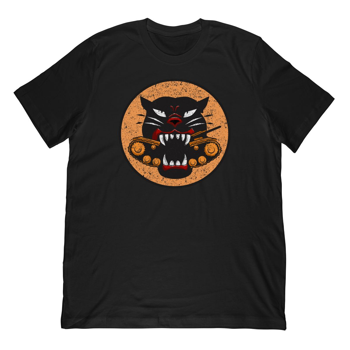 World War II Panther Tank Destroyer Patch T-Shirt