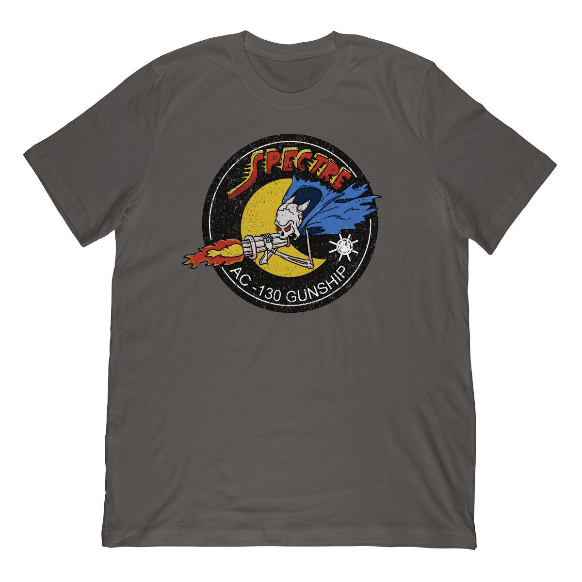 Vietnam AC-130 Gunship Spectre Gunner Patch T-Shirt