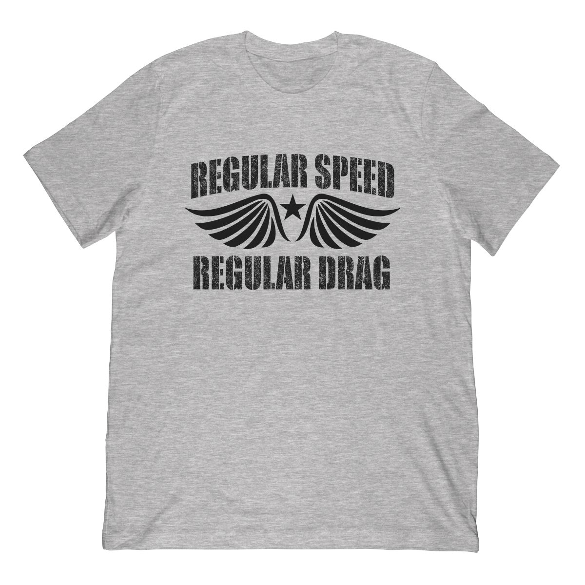 Funny Regular Speed Regular Drag In Black