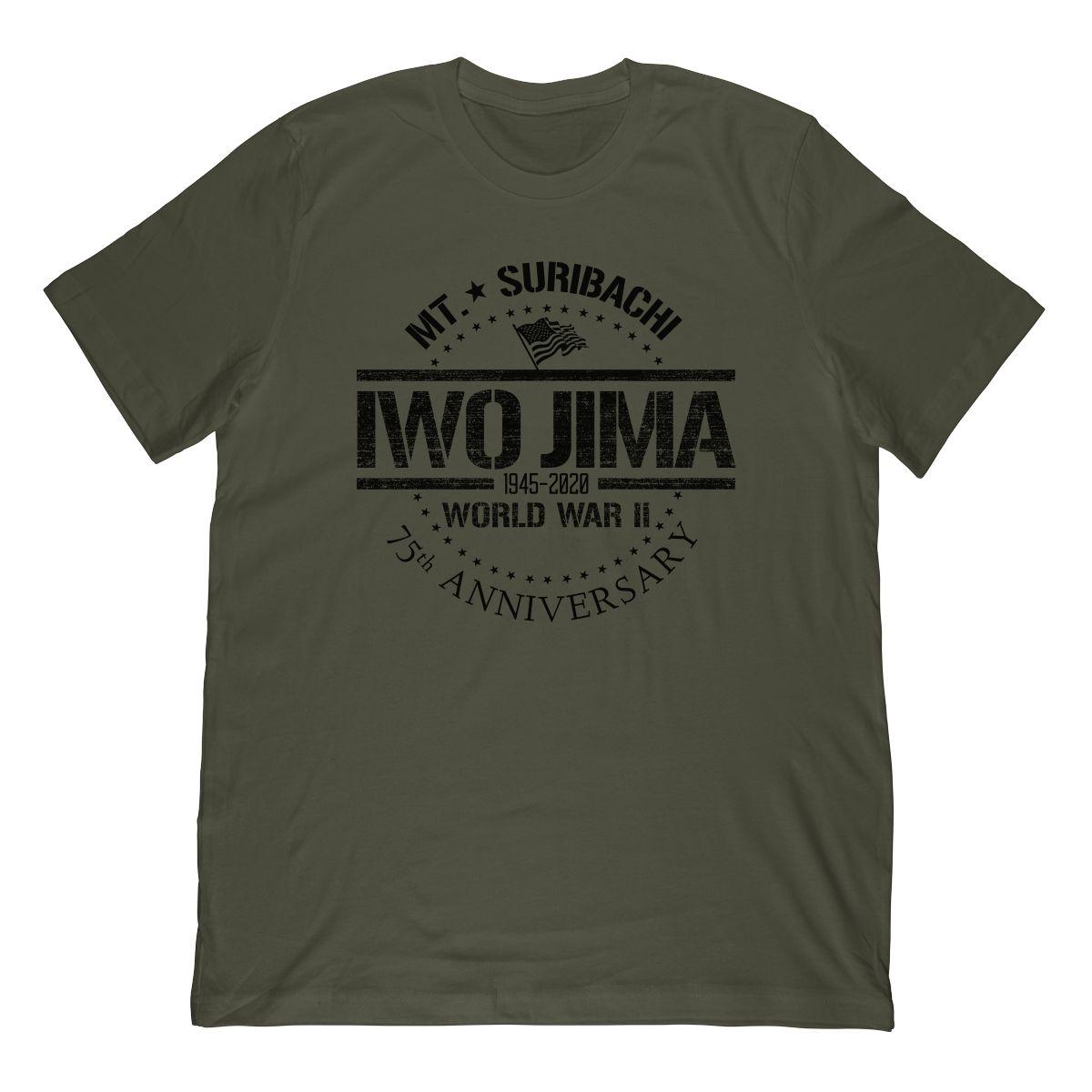 WW2 Iwo Jima 75th Anniversary 1945-2020 Mt. Suribachi
